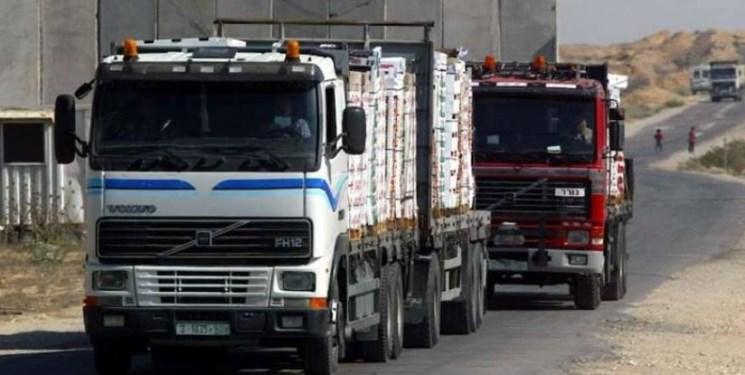 رژیم صهیونیستی ورود تمام کالاها به نوار غزه را ممنوع کرد