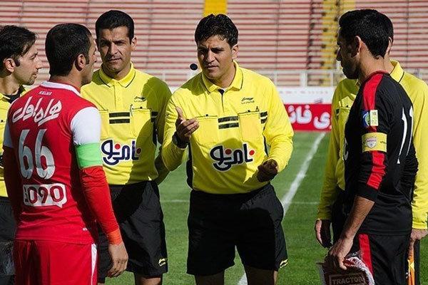 ارجاع پرونده داور فوتبال به کمیته اخلاق