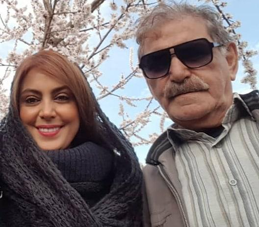 چهره ها/ نیلوفر شهیدی در کنار پدرش