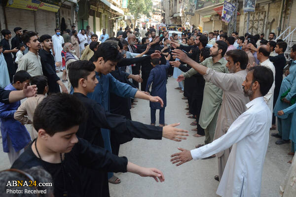 عزاداری شیعیان پیشاور به مناسبت ماه محرم