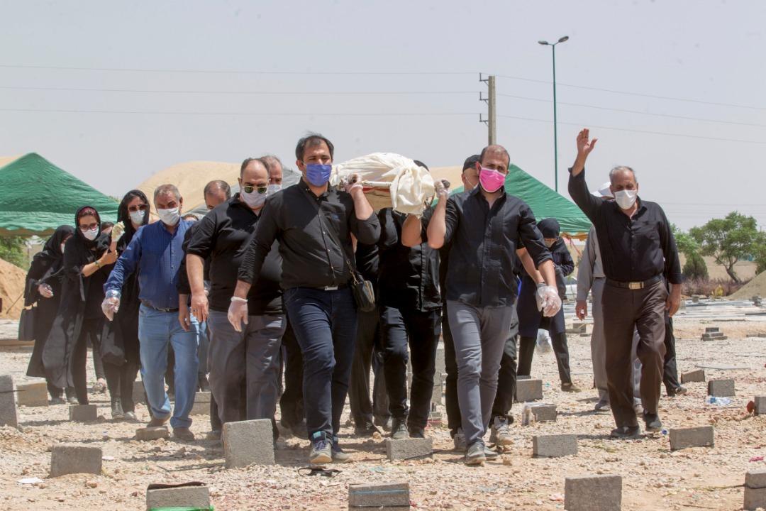 فوت بیش از ۱۰ هزار تهرانی به خاطر کرونا