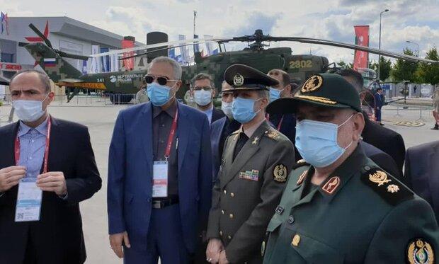 وزیر دفاع از سامانه اس ۴۰۰ روسی بازدید کرد