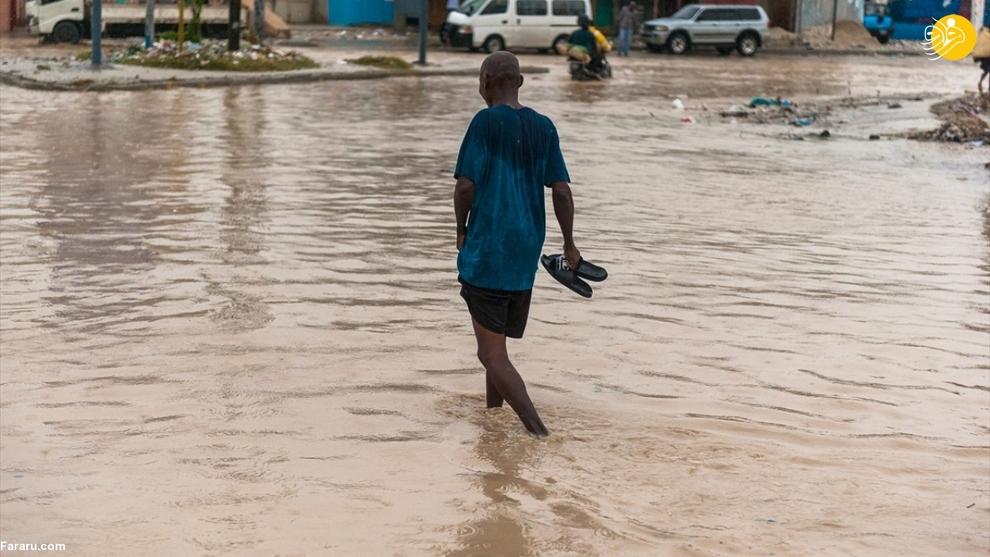 طوفان لورا هائیتی را درنوردید