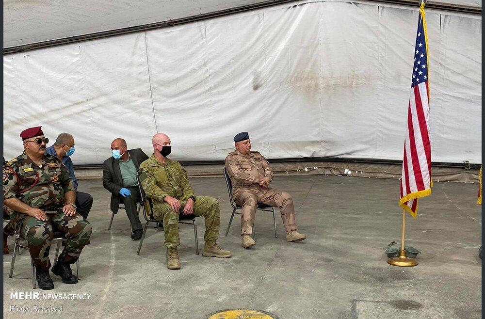 تحویل پایگاه تاجی به نیروهای عراقی