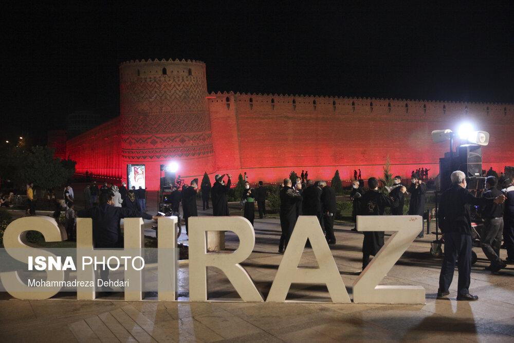 عزاداری شب چهارم محرم در شیراز