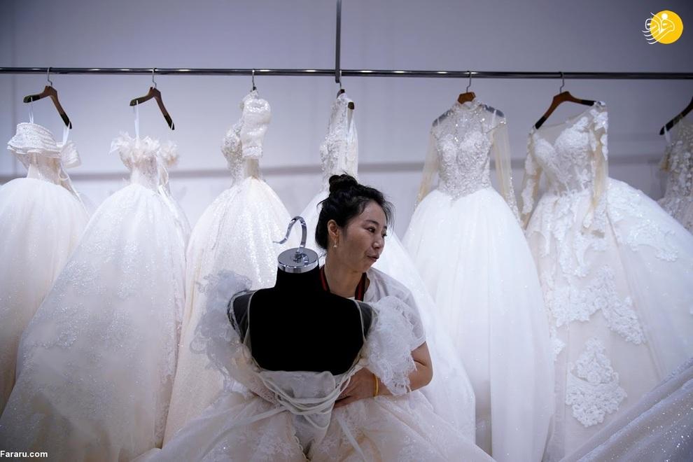 شهری که کلکسیون تولید لباس عروس در جهان است!