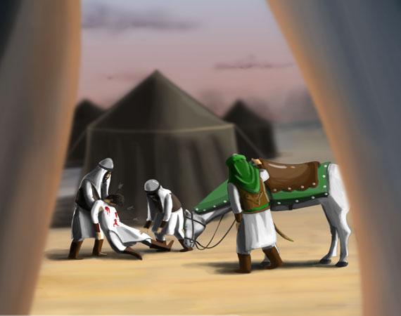 چرا حضرت زینب(س) به استقبال این دو شهید نیامد؟