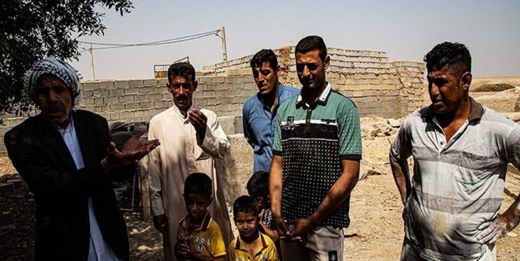 بیآبی در روستای دبحردان اهواز