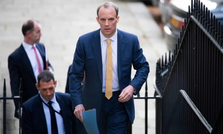 وزیرخارجه انگلیس عازم فلسطین میشود