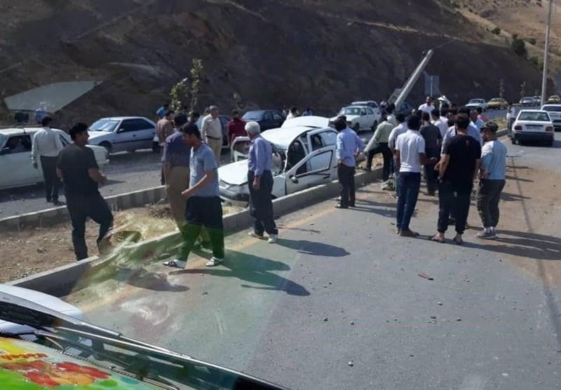 تصادفات در استان لرستان ۳۰ تا ۴۰ درصد کاهش یافته است