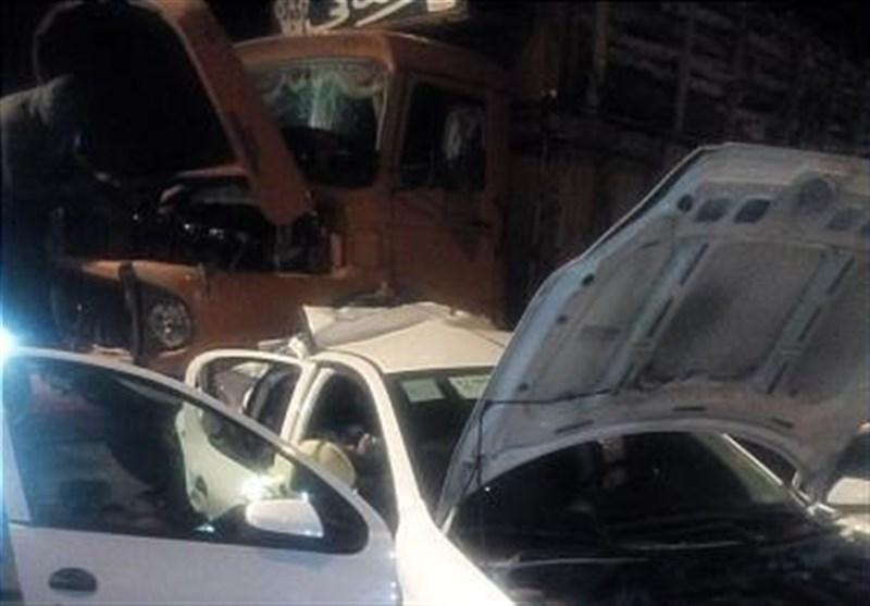تصادف خونین با 8 کشته و مجروح در جاده سرچم