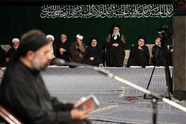 برنامه مراسم عزاداری ایام محرم در حضور رهبر انقلاب