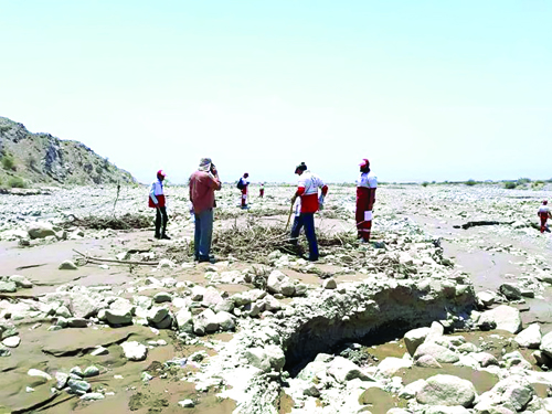ماجرای غرق شدن ٢ خانواده روستایی در یکی از رودخانه های ایرانشهر