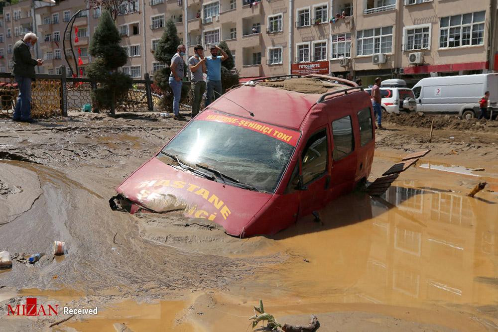 ترکیه زیر آب