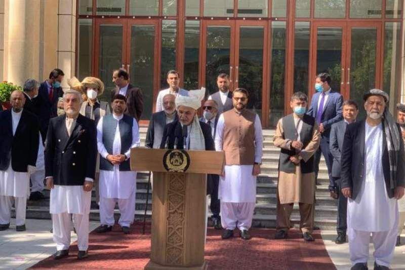اشرفغنی به طالبان برای مشارکت در قدرت پیشنهاد داد