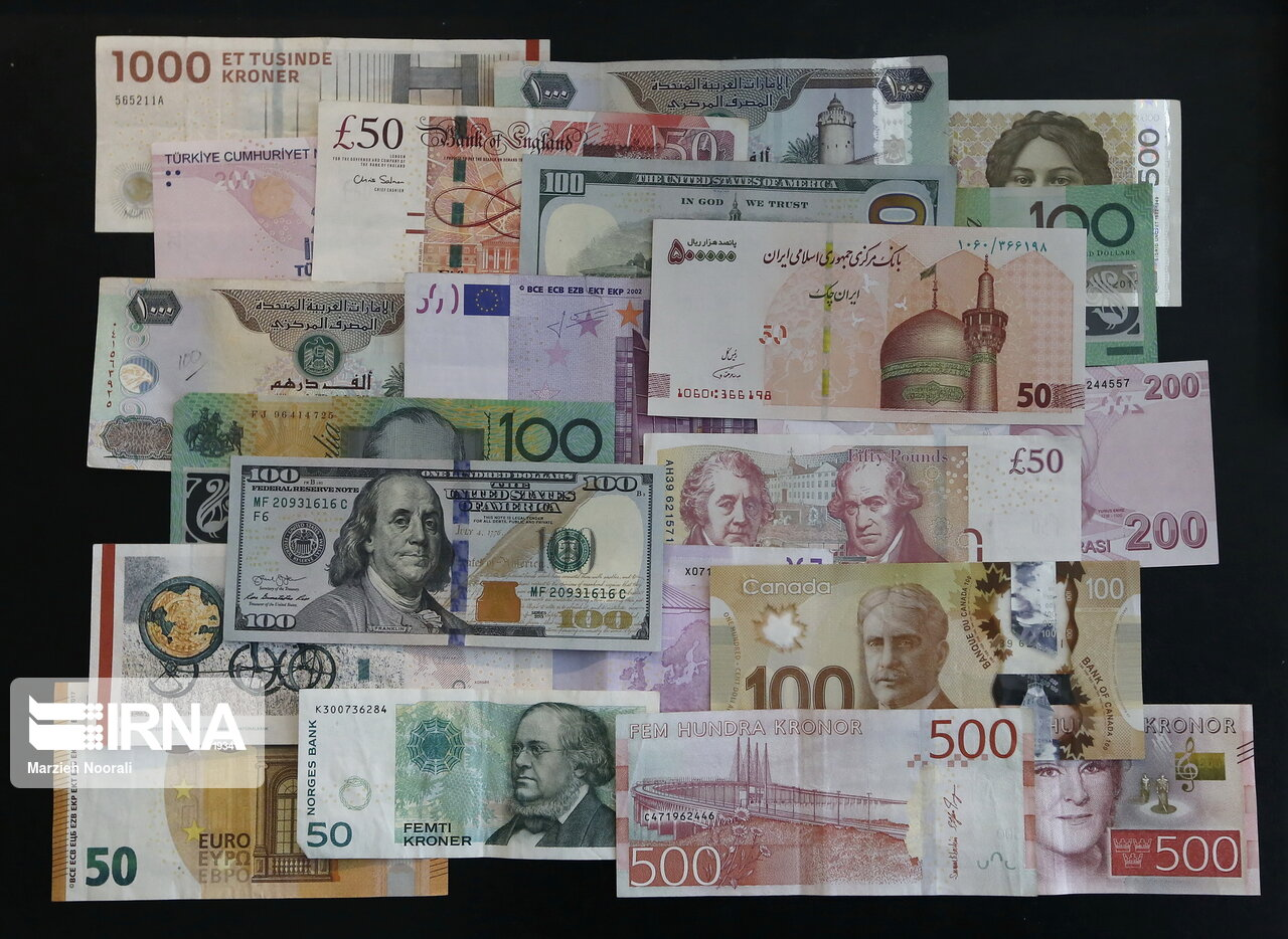 کاهش قیمت رسمی ۱۷ ارز