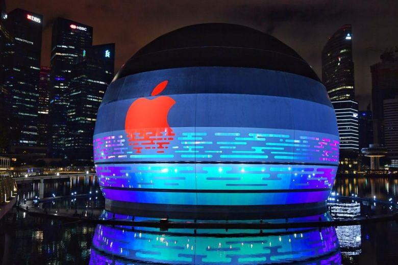 اپل اولین فروشگاه روی آب خود را افتتاح میکند
