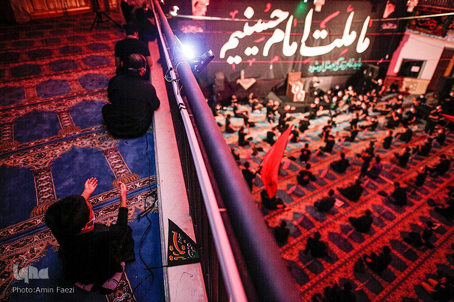 مراسم عزاداری ایام محرم در هیئت مصباح الهدی شیراز