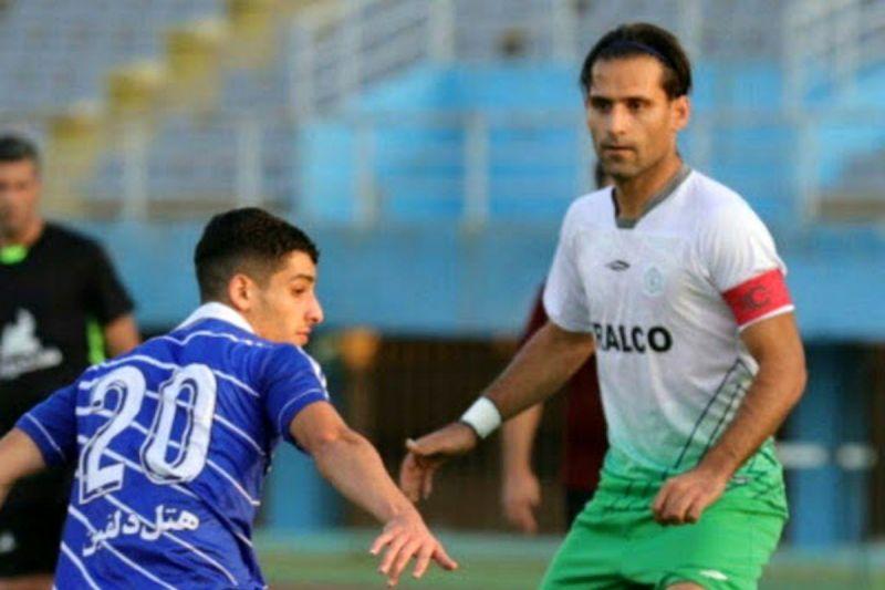 بازیکن اسبق استقلال و کاپیتان کنونی آلومینیوم اراک کرونا گرفت