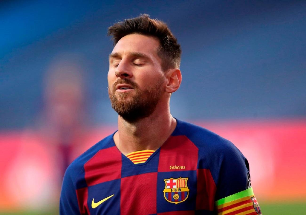 لیونل مسی خواهان جدایی از بارسلونا