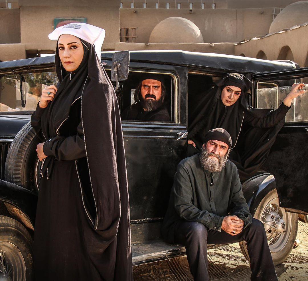 چهره ها/ پخش سریالی با بازی شبنم مقدمی و همسرش