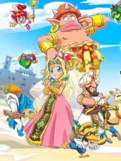 بازی Wonder Boy: Asha in Monster World معرفی شد
