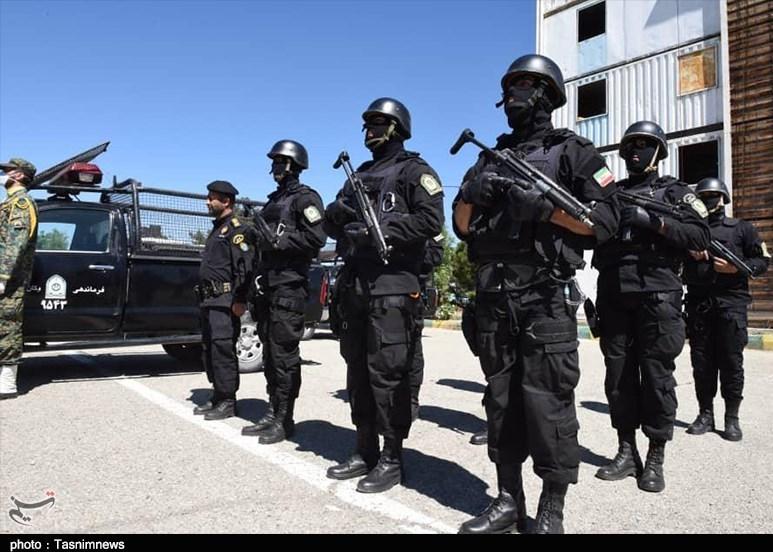 فرمانده یگان ویژه ناجا: امنیت مردم خط قرمز پلیس است