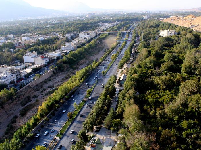 فرار راننده پس از تصادف با عابر پیاده در اتوبان چمران تهران
