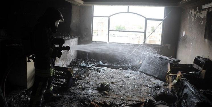 نجات 3 شهروند مشهدی از میان شعلههای آتش در یک آپارتمان مسکونی