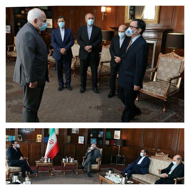 دیدار سفیر شیلی با ظریف
