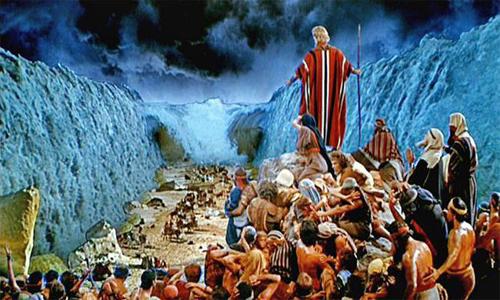در چنین روزی؛ عبور حضرت موسى (ع) از دریا