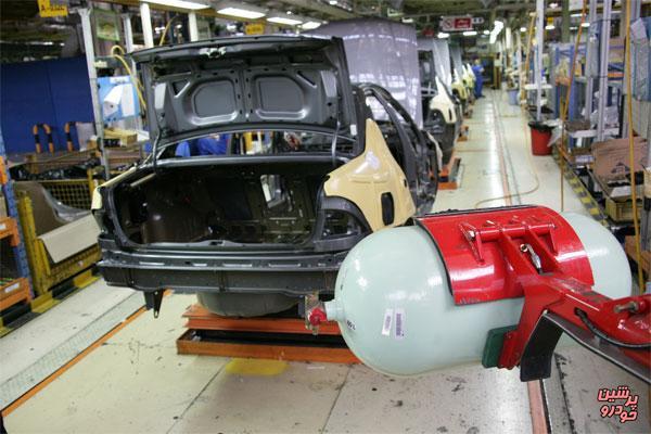 تولید خودروهای سواری دوگانه سوز آغاز می شود