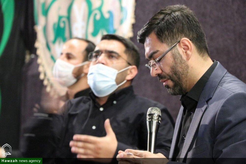 عکس/ عزاداری هیئت مسجد جنرال در مدرسه الزهرا ارومیه