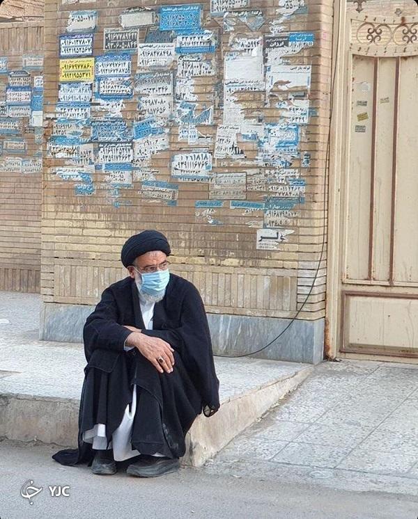 تصویر متفاوتی از امام جمعه اهواز در روضه خیابانی