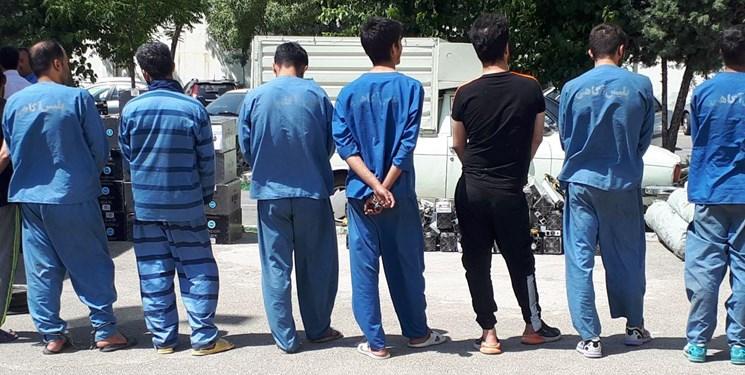 کشف 34 فقره سرقت در کرمانشاه طی 24 ساعت اخیر