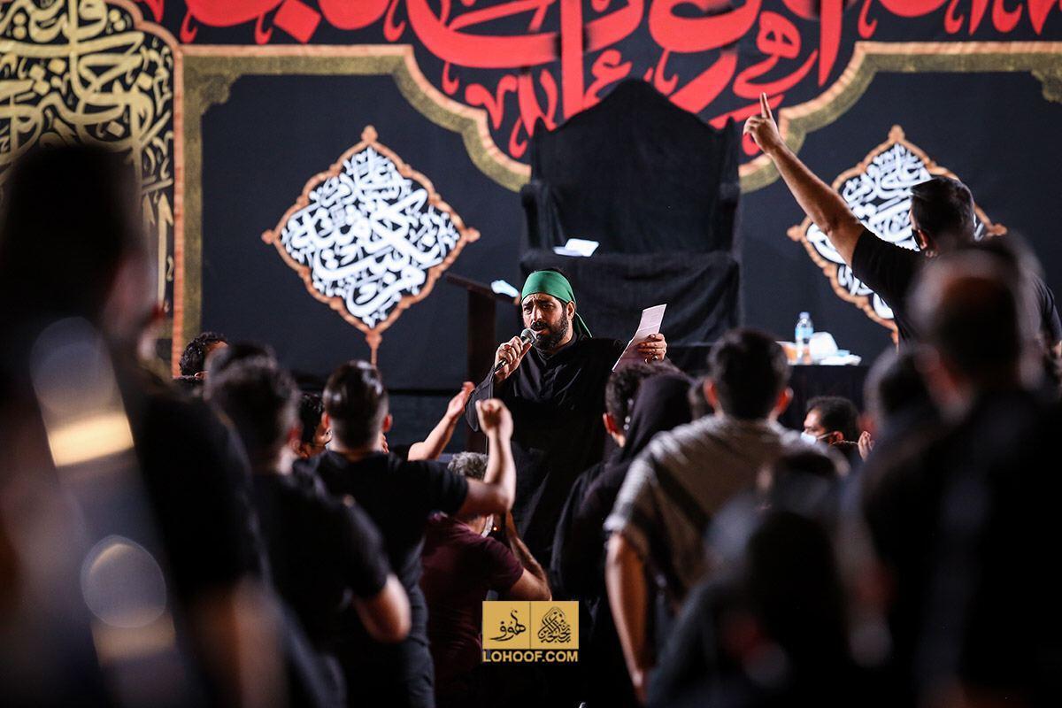 مداحی شب هفتم محرم 1399 با نوای سید مجید بنی فاطمه
