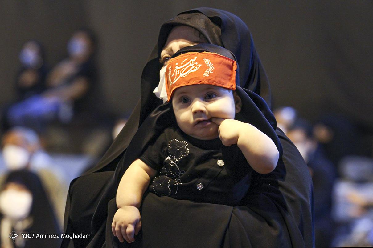 عکس/ به یاد علی اصغر حسین(ع)