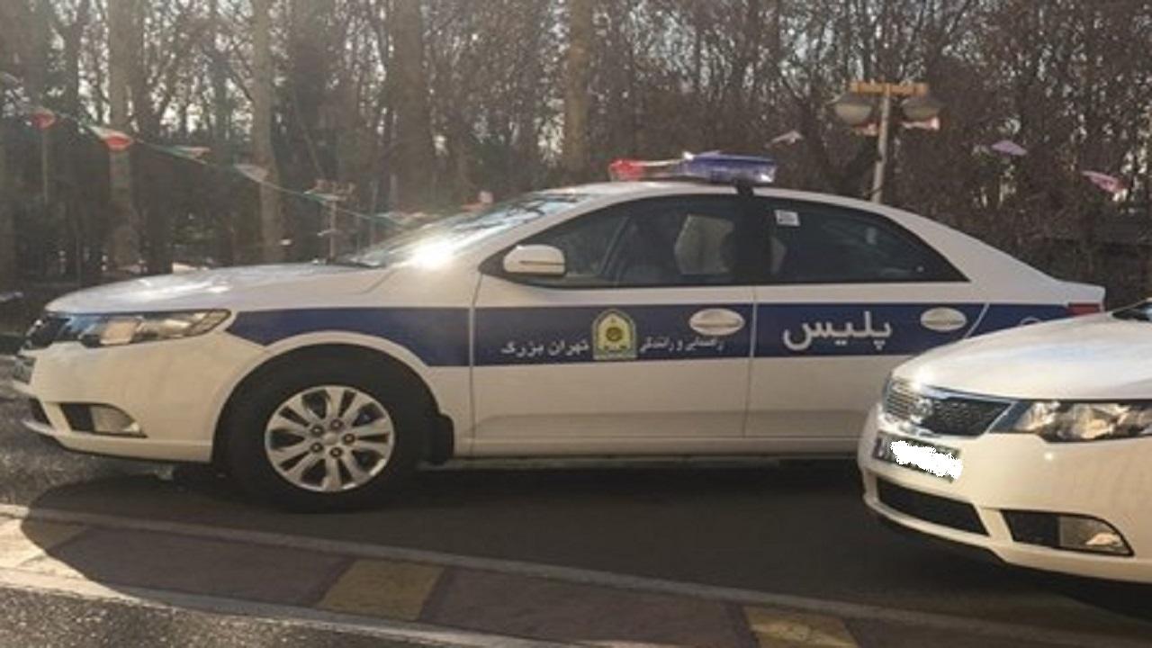 طرح جدید پلیس راهور پایتخت برای جریمه کردن رانندگان وسایل نقلیه