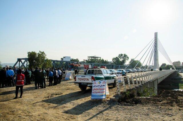 بازگشایی مسیر پروژه پل تا پل در ساری