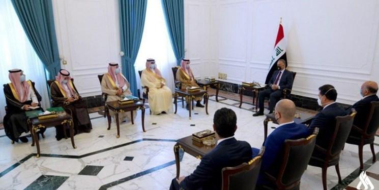 گفتوگوی نخستوزیر عراق با وزیر خارجه عربستان سعودی