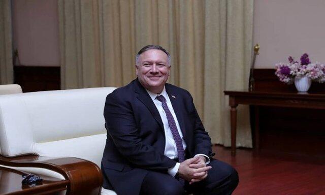 پامپئو وارد عمان شد