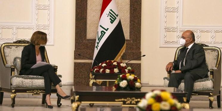 رئیسجمهور عراق: ترکیه حملات خود به خاک عراق را متوقف کند