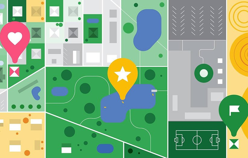 بخش مکانهای «ذخیره شده» در گوگل مپ بهروزرسانی شد