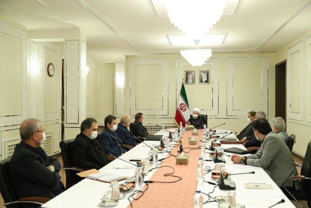 روحانی: ترمیم صدمات تحریم و کرونا، از اهداف نقشه راه دولت است