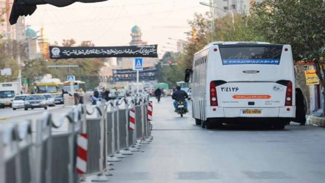 اعمال محدودیتهای ترافیکی در مشهد از ظهر جمعه
