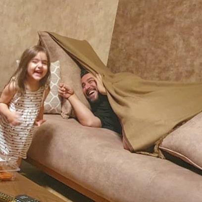 چهره ها/ زیباترین حسِ محسن کیایی همراه دخترش در شروع 40 سالگی