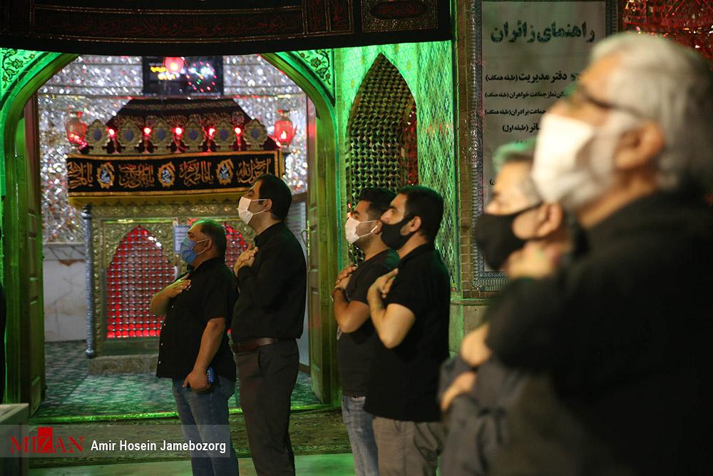 عزاداری شب هشتم محرم در امامزاده علیاکبر (ع) چیذر