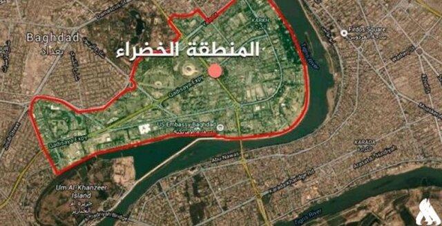 دومین حمله موشکی به منطقه سبز بغداد