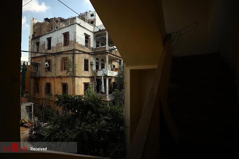 زندگی در ویرانههای انفجار بیروت