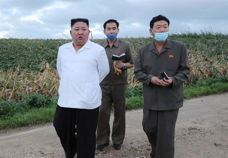 بازید کیم جونگ اون از مناطق طوفان زده کره شمالی